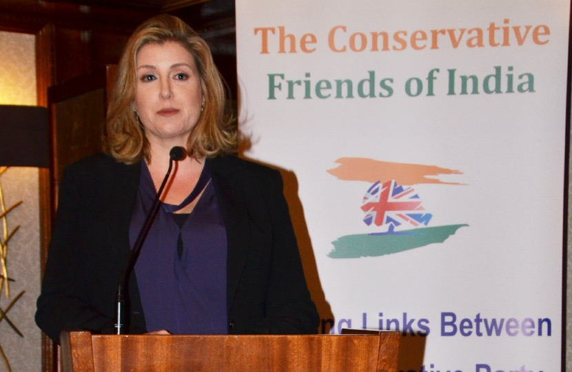 The Rt. Hon. Penny Mordaunt MP