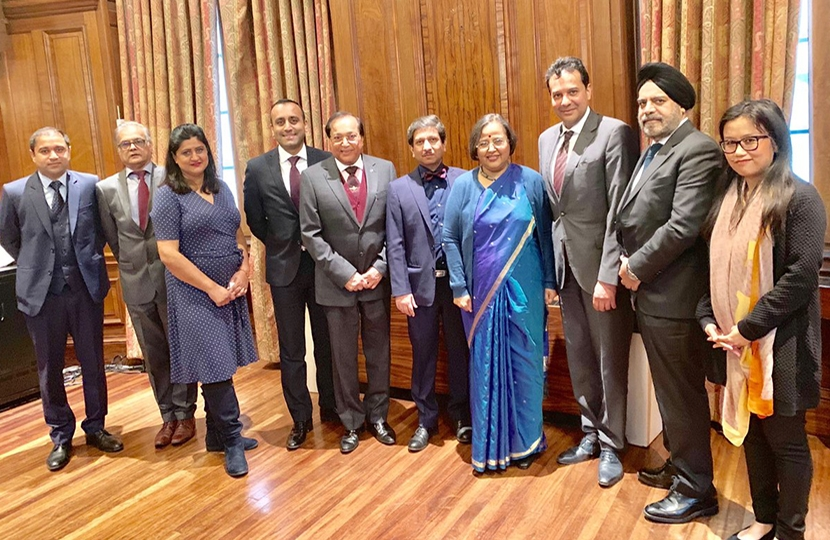 CFIndia with Indian High Commissioner H.E Ruchi Ghanashyam