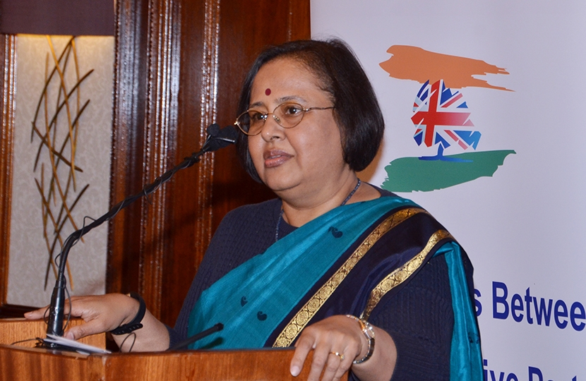 The High Commissioner of India H.E Ruchi Ghanashyam