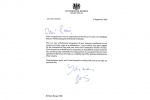 Letter from PM to Dr. Rami Ranger CBE